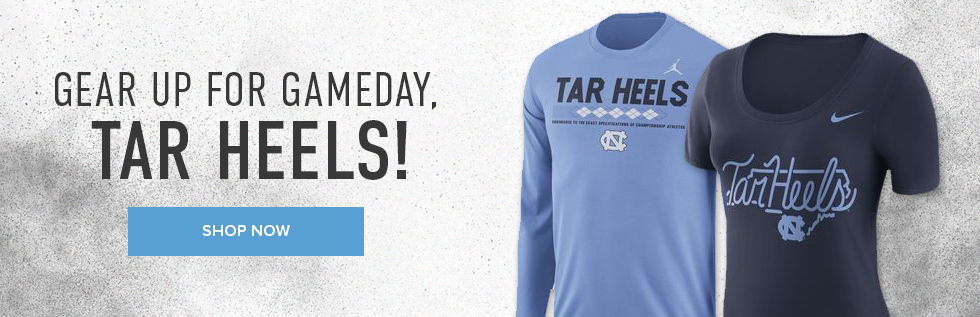 Picture of shirts. Gear up for gameday. Click to shop now.